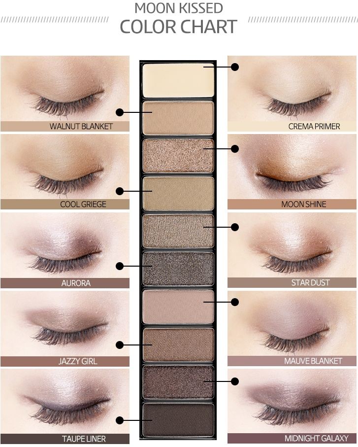Pro-Beauty Eyeshadow Palette 02 Moon Kissed